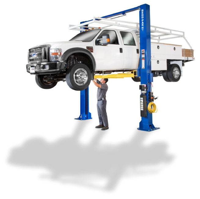 BendPak - XPR-15CL - 15,000-lb  Capacity Two-Post Lifts