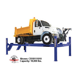 Forward Lift – 4 Post Heavy Duty Lift – 18,000 lb. Lifting Capacity