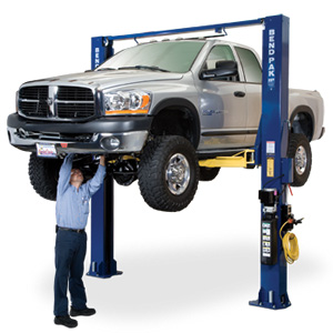 BendPak Lifts – 2 Post Lift -Dual Width Clear floor 10,000 lb. Lifting Capacity