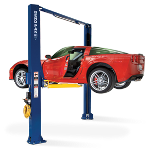 BendPak Lifts – 2 Post Lift – Assymetric Dual Width 10,000 lb. Lifting Capacity