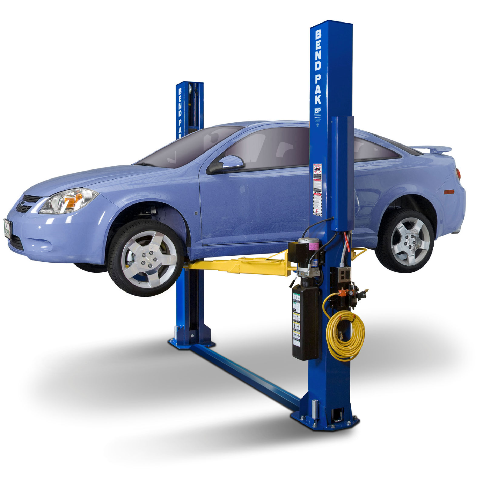 BendPak - XPR-9S - Floorplate Style Two-Post Lift / Screw Pads / Chain Drive