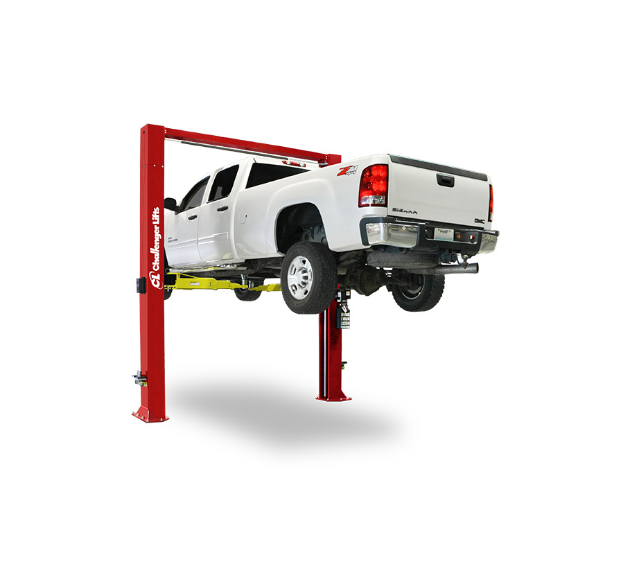 Challenger Two Post Lift Cl12 Capacity 12 000 Lb Gary Bloom