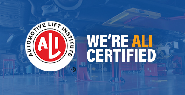 We're Ali certified